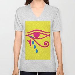 Eye of Horus Tears Unisex V-Neck