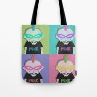 punk Tote Bags featuring Punk? by Maripili