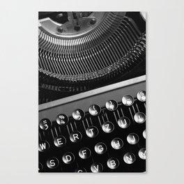 Typewriter NO.2 Canvas Print
