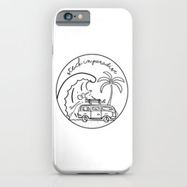 Stuck in Paradise iPhone Case