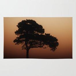 Lone Tree Sunrise Rug