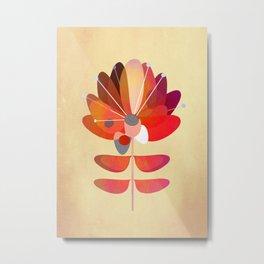 Red Flower Metal Print