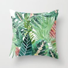 Havana jungle Throw Pillow