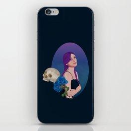 Goth iPhone Skin