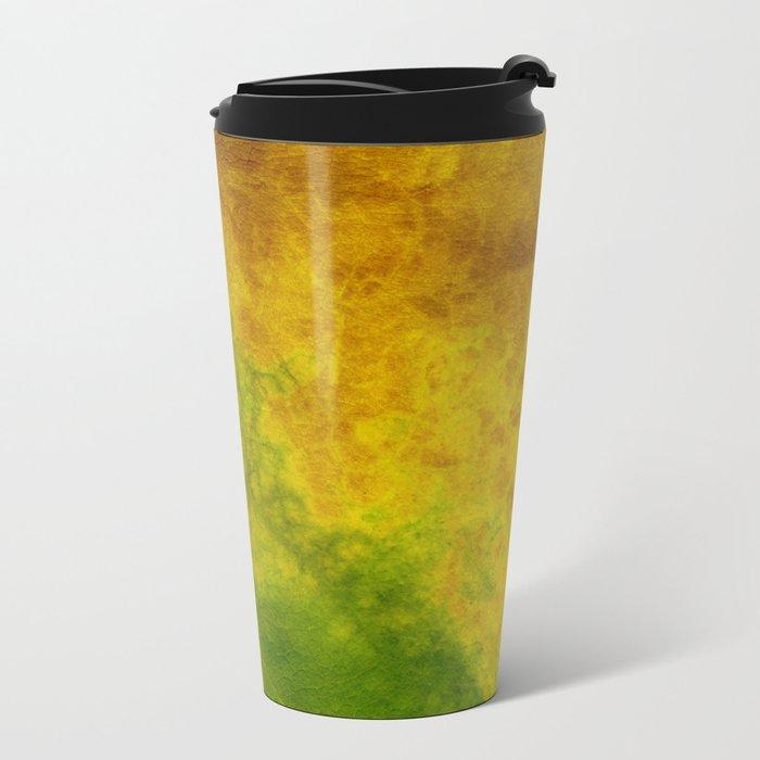 Nature color Metal Travel Mug