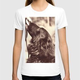 The love of a dog to man T-shirt