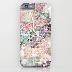 Minneapolis map - Landscape iPhone 6s Slim Case