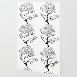 Branching tree graphics Wallpaper