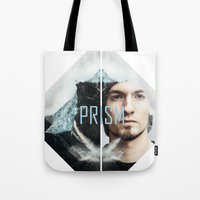 prism Tote Bags featuring Prism by Prism