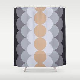 Gradual Hazelnut Shower Curtain
