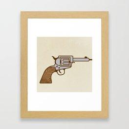 Flower Pow! Framed Art Print