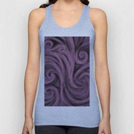 dark lavender swirl Unisex Tank Top