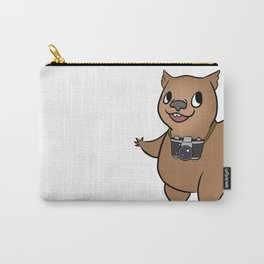 Wombat with 35mm SLR Carry-All Pouch