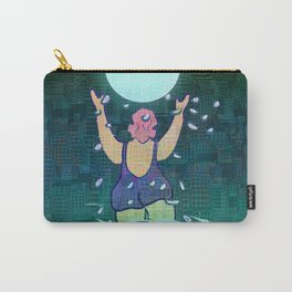 Bathing somewhere under the Moon Carry-All Pouch