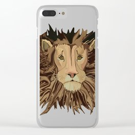 Andrew's Mane Story Clear iPhone Case