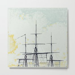 All Masts Up Metal Print