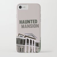 haunted mansion iPhone & iPod Cases featuring new Orleans square.. haunted mansion by studiomarshallarts