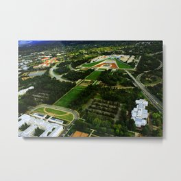 Canberra and Parliament Metal Print