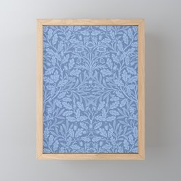 "William Morris ""Acorn"" 7. Framed Mini Art Print"