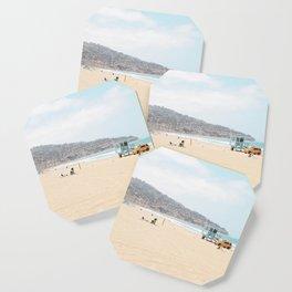 Redondo Beach // California Ocean Vibes Lifeguard Hut Surfing Sandy Beaches Summer Tanning Coaster
