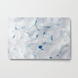 1193. Early Melt on the Greenland Ice Sheet Metal Print
