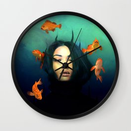 Oracle of Blue  Wall Clock