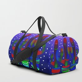Cactus Rainbow 03 Duffle Bag