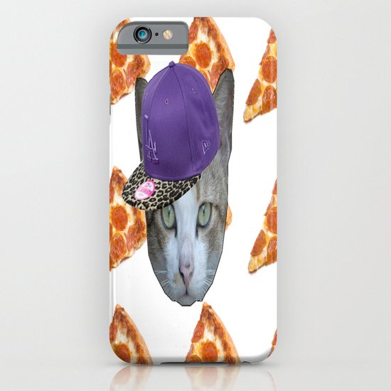 Pizza Cat iPhone & iPod Case