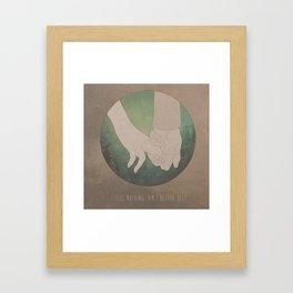 I Feel Nothing. Am I Better Yet? Framed Art Print