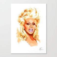 RuPaul - Supermodel - Pop Art Canvas Print