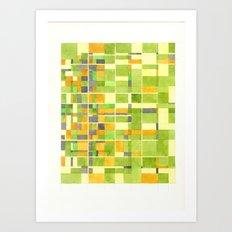 color field_02 Art Print