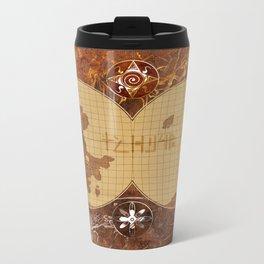 Map of Ishtar  Metal Travel Mug