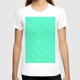 Interpretive Weaving (Lime Cooler) T-shirt