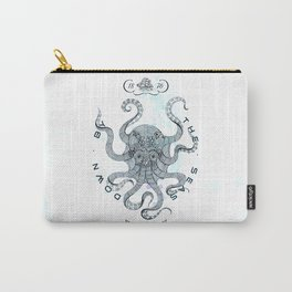 Octopus - Salt Club 76 - Down by the Sea Carry-All Pouch