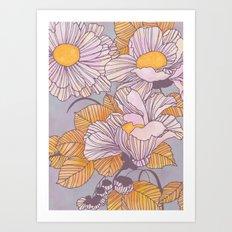 Sun Blossoms Art Print