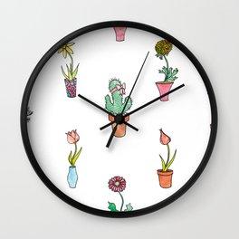 The Odd Flower Wall Clock