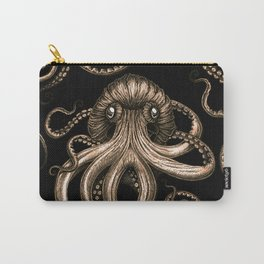 Bronze Kraken Carry-All Pouch