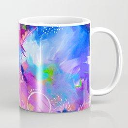 Scrap Paint 1 - Colorful abstract art Coffee Mug
