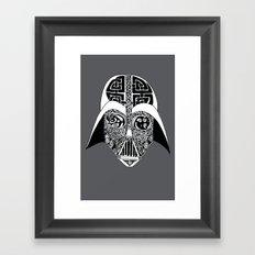 Celtic Vader Framed Art Print