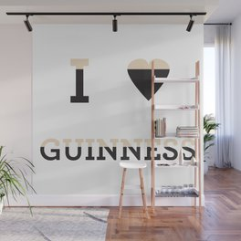 I heart Guinness Wall Mural