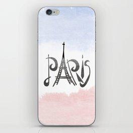 Paris Logo iPhone Skin