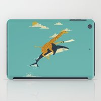 weird iPad Cases featuring Onward! by Jay Fleck