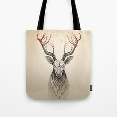 Deer tree Tote Bag