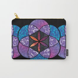Fractal Seed of Life Carry-All Pouch