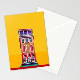 Manarola House, Cinque Terre, Italy Stationery Cards