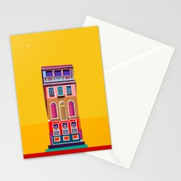Manarola House, Cinque Terre, Italy Stationery Cards