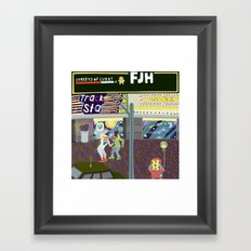 FJH ✮ Streets of Cuzzy EP Framed Art Print