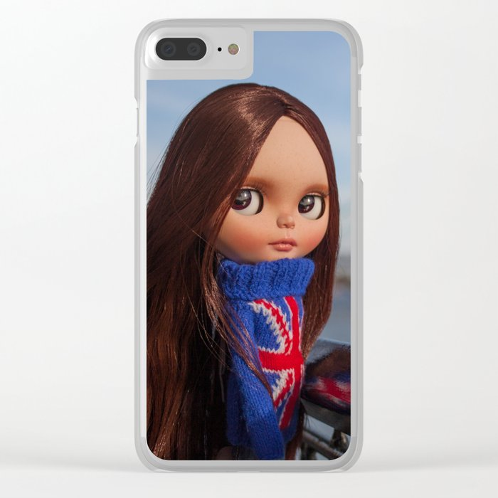 Noa in LONDON Clear iPhone Case