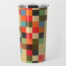 Mid Century Textile Series 1_3 Travel Mug