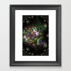 Heavens Gate Framed Art Print